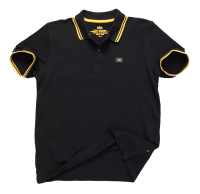 "Polo ALPHA INDUSTRIES ""TWIN STRIPE POLO II"" czarno-żółte"