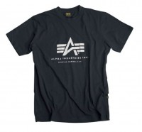 "T-shirt ALPHA INDUSTRIES ""BASIC"" czarny"