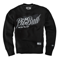 "Bluza PIT BULL ""TRAY EIGHT"" czarna prosta"