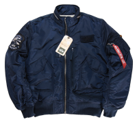 "Kurtka ALPHA INDUSTRIES ""ENGINE"" rep blue"