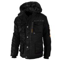 "Kurtka parka PIT BULL ""WORLD EXPEDITION 2"" czarna"
