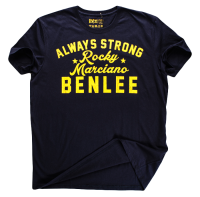 "T-shirt BENLEE ""ALWAYS STRONG"" granatowy"