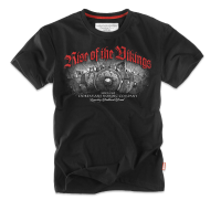 "T-shirt DOBERMANS ""RISE OF THE VIKINGS"" TS115 czarny"