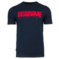 "T-shirt EXTREME HOBBY ""BE BRAVE"" granatowy"