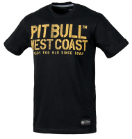 "T-shirt PIT BULL ""WAR DOG"" czarny"