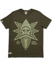 "T-shirt SLAVA REPUBLIC ""PERUN"" zielony"