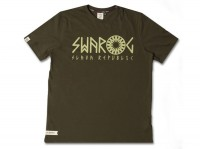 "T-shirt SLAVA REPUBLIC ""SWAROG"" zielony"