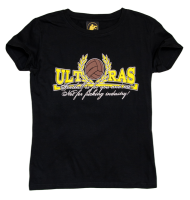 "T-shirt damski AVANTI ULTRAS ""FOOTBALL"" czarny"