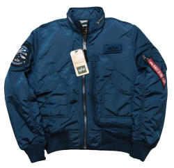 "Kurtka ALPHA INDUSTRIES ""ENGINE"" bold blue"