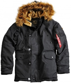 "Kurtka parka ALPHA INDUSTRIES ""EXPLORER"" czarna"