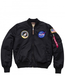 "Kurtka ALPHA INDUSTRIES ""MA-1 VF NASA"" czarna"