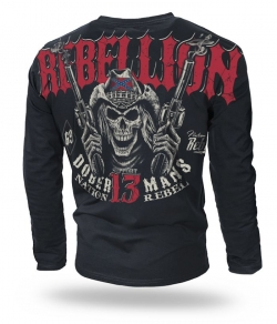 "Longsleeve Dobermans ""REBELLION"" LS165 czarny"