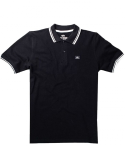 "Polo ALPHA INDUSTRIES ""TWIN STRIPE POLO II"" czarne"