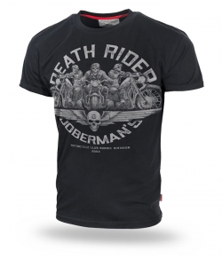 "T-shirt DOBERMANS ""DEATH RIDERS"" TS166 czarny"
