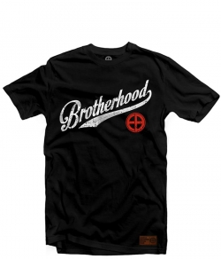 "T-shirt EUROPEAN BROTHERHOOD ""BROTHERHOOD"" czarny"