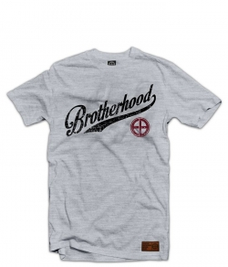 "T-shirt EUROPEAN BROTHERHOOD ""BROTHERHOOD"" szary"