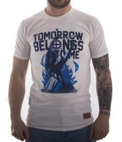 "T-shirt EUROPEAN BROTHERHOOD ""TOMORROW BELONGS TO ME"" biały"