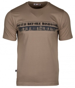 """T-shirt EXTREME HOBBY """"SERGENT"""" beżowy"""