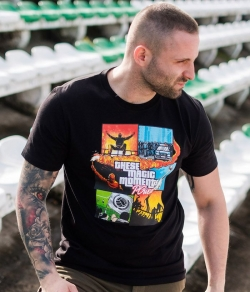 "T-shirt PGWEAR ""MAGIC MOMENTS"" czarny"