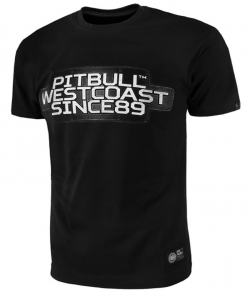 "T-shirt PIT BULL ""RATING PLATE"" czarny"