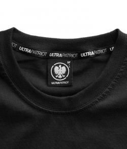 "T-shirt ULTRAPATRIOT ""MODEL BG77"" czarny"