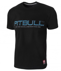 "T-shirt PIT BULL ""BLUE EYED DEVIL'18'' czarny"
